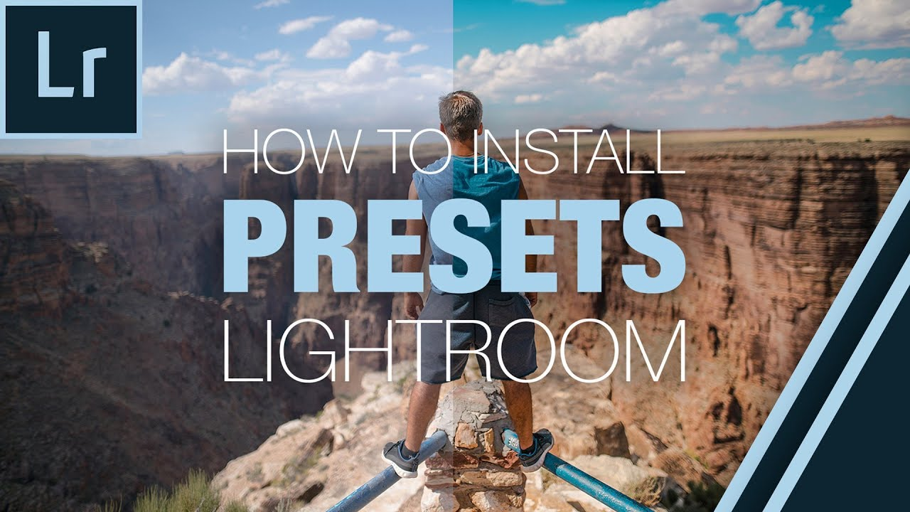 HOW TO: INSTALL LIGHTROOM PRESETS IN LIGHTROOM