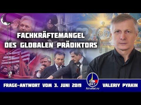 Fachkräftemangel des Globalen Prädiktors (Valeriy Pyakin 3.6.2019)