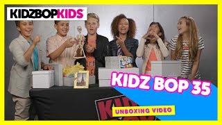 KIDZ BOP 35 Surprise Unboxing with The KIDZ BOP Kids!