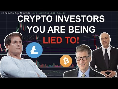 LITECOIN & BITCOIN INVESTORS. You Are Being LIED TO! – Bill Gates, Cuban, Billionaires Brainwash You