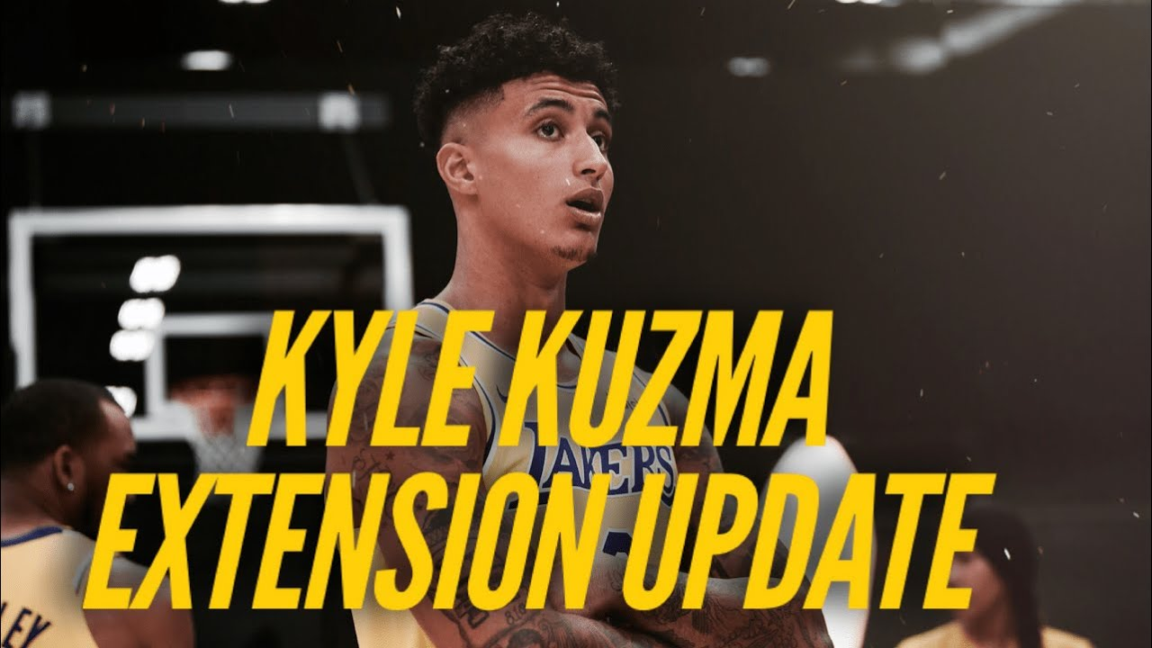 Lakers' Kyle Kuzma calls contract extension a 'win-win'