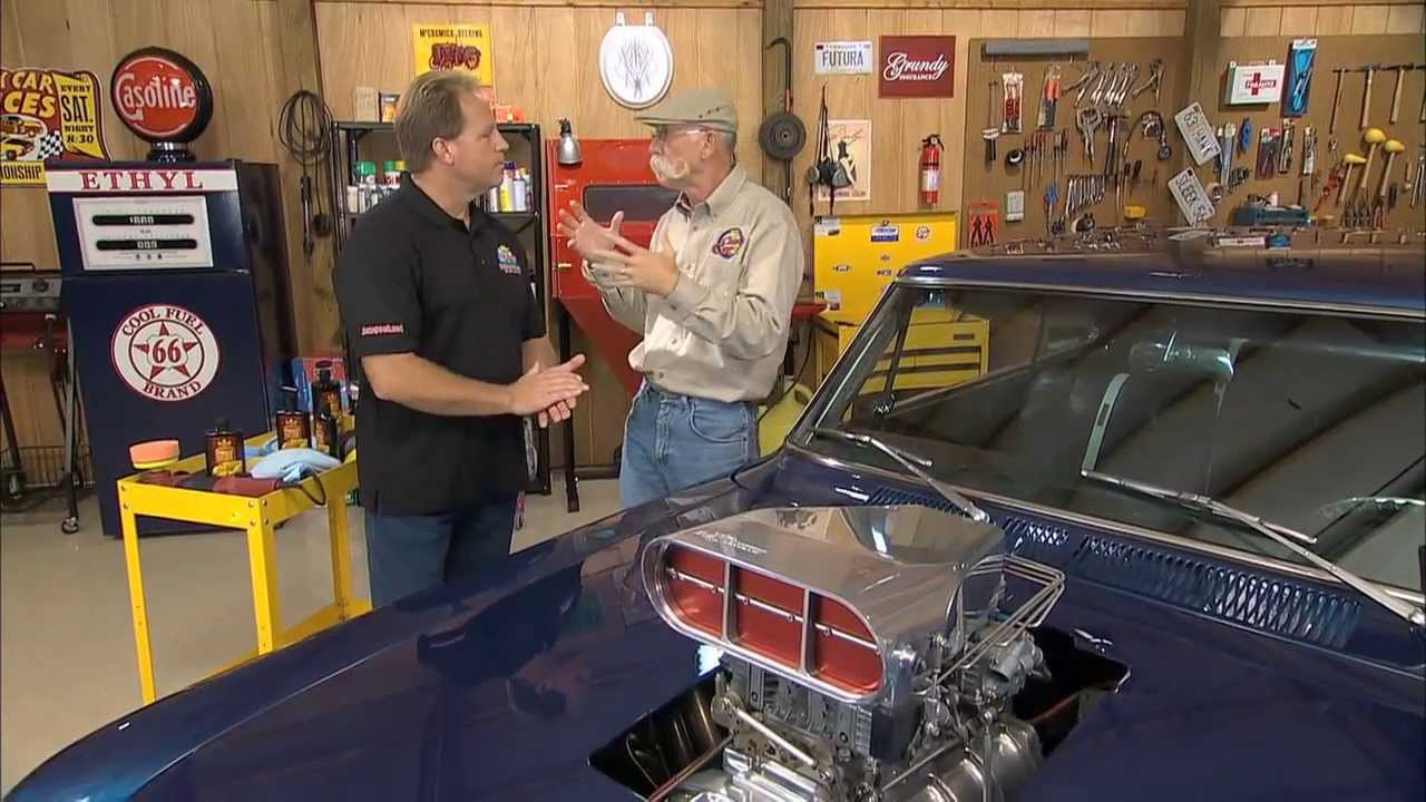 Glass Polishing On My Classic Car With Dennis Gage And Mike Phillips