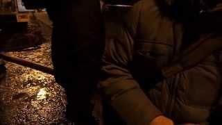 Страшный пожар в Москве на Нахимовском проспекте, м. Профсоюзная.