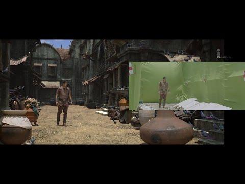 LATEST TAMIL MOVIE PULI VFX MAKING