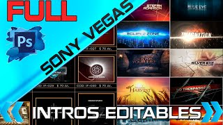 Repeat youtube video PACK DE INTROS EDITABLES PARA SONY VEGAS PRO 12 & 13 |2016
