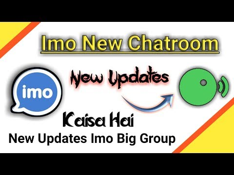 Imo New Updates New Chatroom | Big Group New Chatroom
