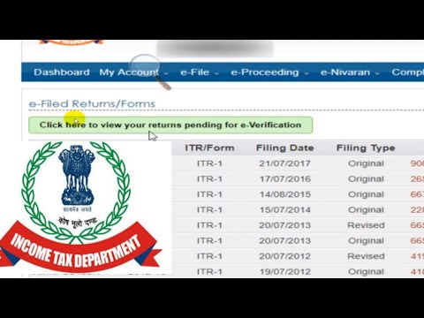 How to E-Verify Income tax return or ITR V (2017-18) to save time to send hard copy of ITR V to CPC