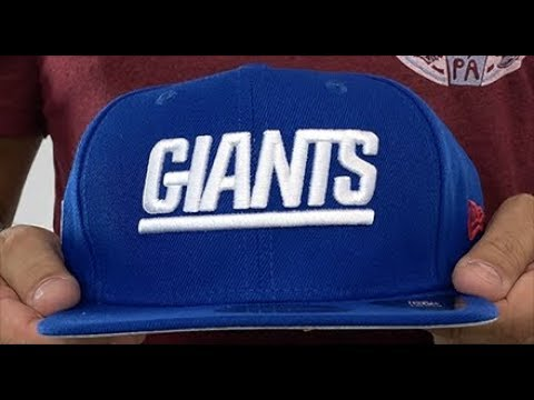 New York NY Giants THROWBACK TEAM-BASIC SNAPBACK Royal Hat By New Era