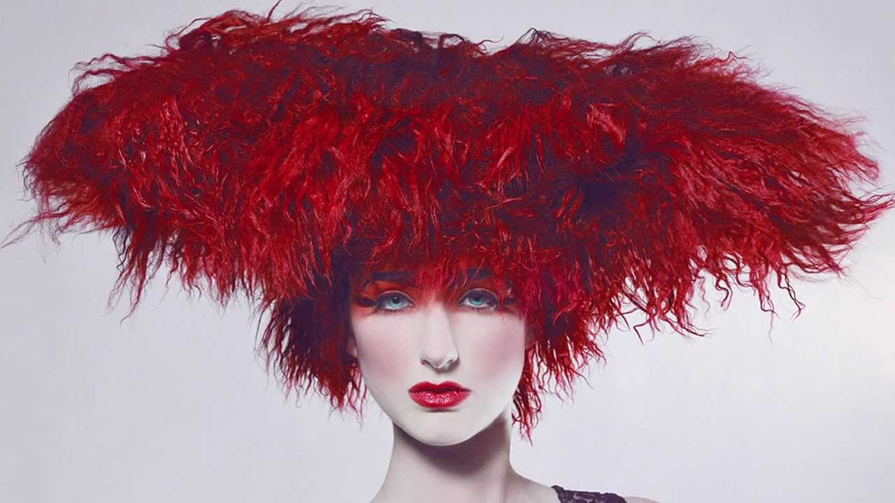 Avant Garde Hairstyles Fashion Style By Nv My Hair Academy Red Mohawk Nancy V Brown Youtube