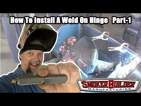 How to install a weld on hinge part 1