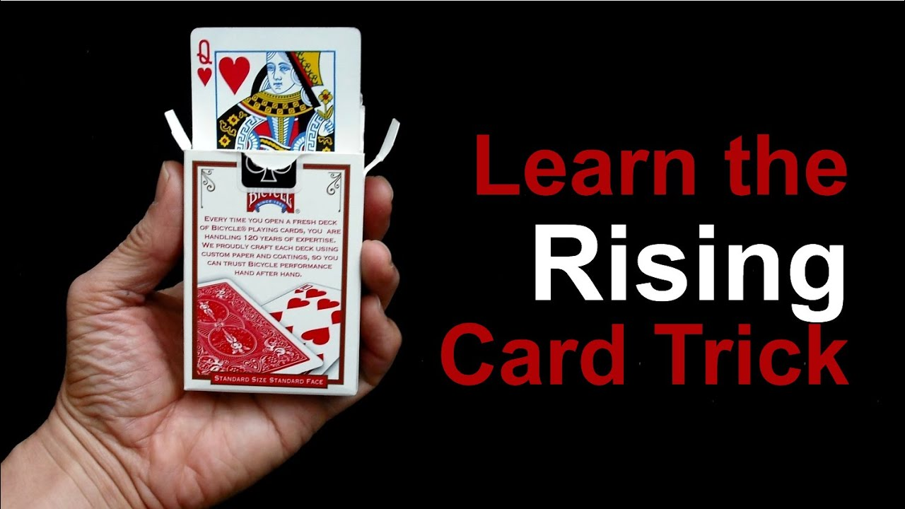 Easy Magic Trick: The Rising Card Trick - YouTube