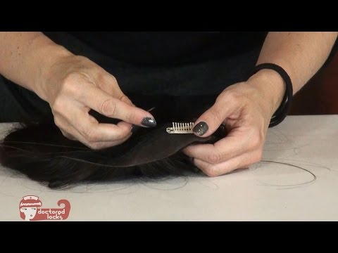 Creating a Top Piece or Toupee from a Wig - DoctoredLocks.com