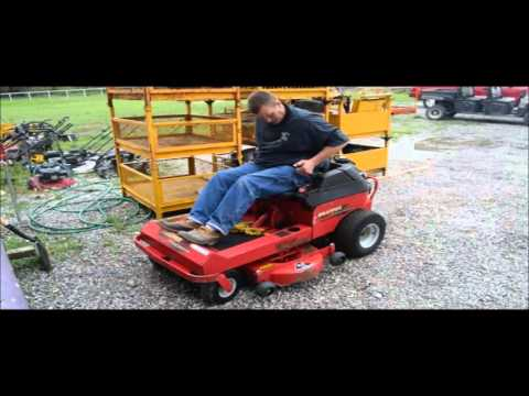 Snapper Yard Cruiser lawn mower for sale | no-reserve Internet auction May 18, 2016