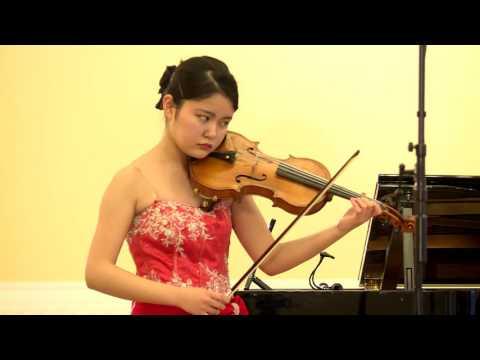 29. Mayu Ozeki (Japan), 5th International Jascha Heifetz competition, Vilnius