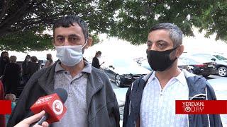 ՌԴ մեկնել ցանկացող քաղաքացիները կշարունակեն հացադուլը մինչև վարչապետի պատասխանը