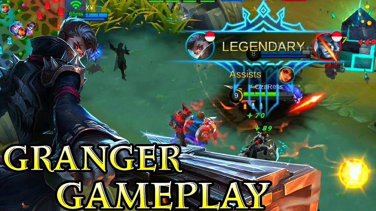 New Hero Granger Gameplay - Mobile Legends Bang Bang