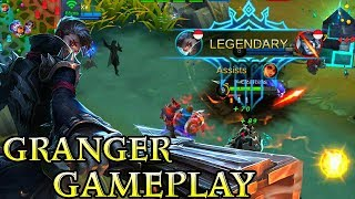 New Hero Granger Gameplay - Mobile Legends Bang Bang
