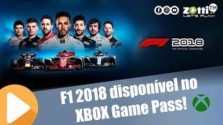 F1 2018 agora disponível no Xbox Game Pass!!