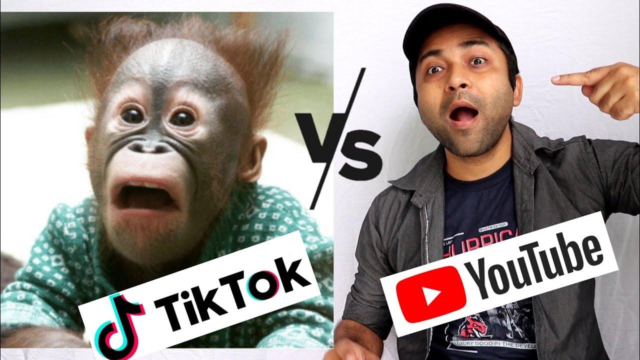 Youtube Vs Tiktok | CarryMinati - YouTube