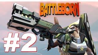 Battleborn Gameplay PC  Beta 2016: Part 2 (Oscar Mike Characters)