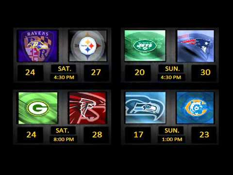 NFL 2010 Playoff Predictions - Divisional Round