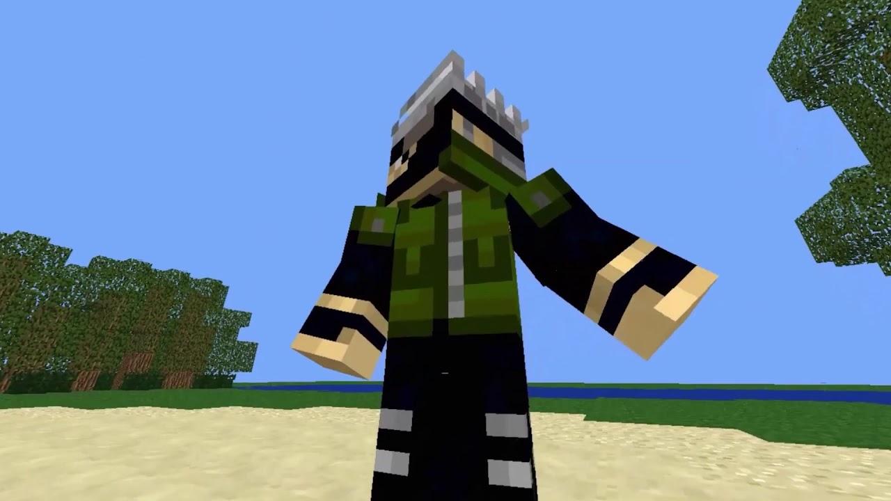 Kakashi Skin for Minecraft - YouTube