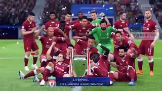 Fifa 19 Beta   Liverpool Winning The Champions league   Last FIFA 19 Beta Video