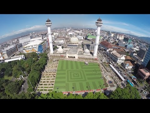 Best of Bandung aerial FPV video 2015 - Bird's view of Bandung