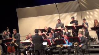 College of San Mateo Big Band - The Waltz I Blew for You - 3-18-2013