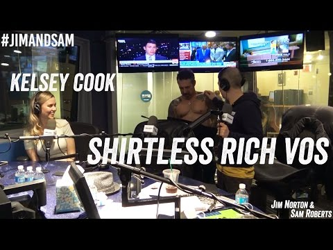 Rich Vos & Kelsey Cook in studio - Ewoks, Shirtless Vos, Award Shows - Jim Norton & Sam Roberts