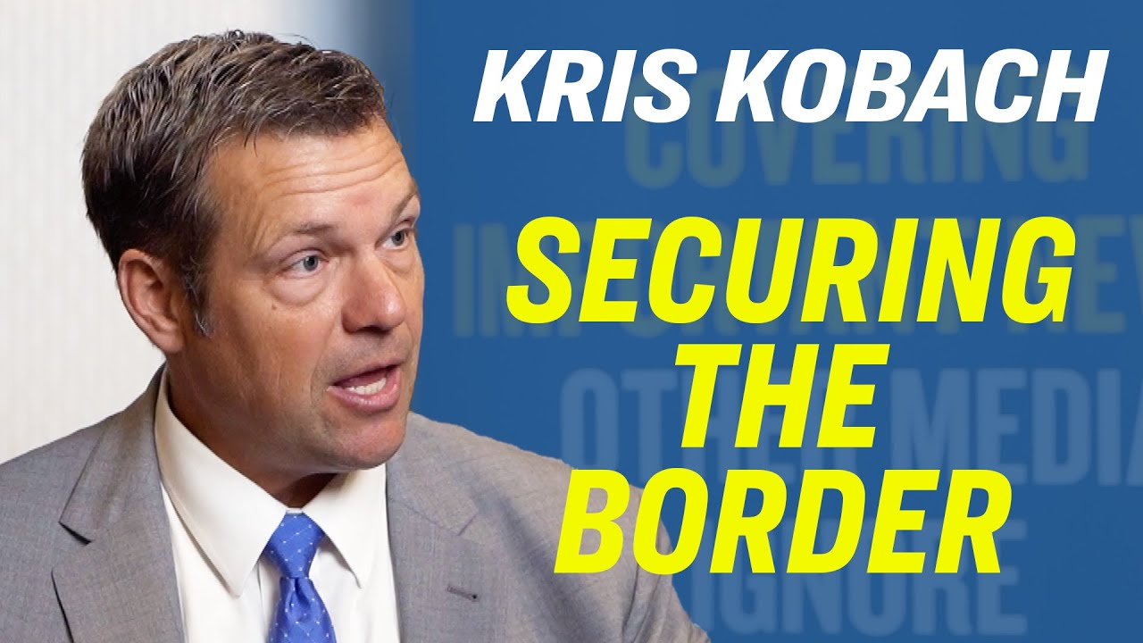 "Epoch Times Kris Kobach On His Senate Run, Immigration Reform and ""We Build The Wall"" [Eagle Council"