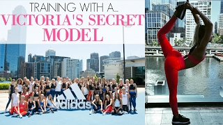 Training with a Victoria Secret's Model | Staying True to Myself| Day In The Life