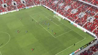 Man Utd vs Huddersfield - Rossi Own Goal 18th minute