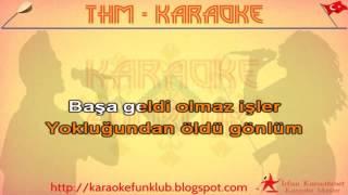 Hasretinle yandı gönlüm karaoke
