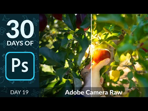 How To Edit RAW Photos In Photoshop | Day 19