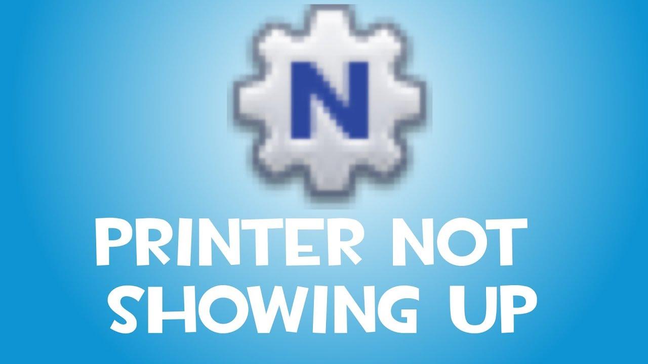 [FIX] Printer not showing up - NETGEAR ReadyShare Printer