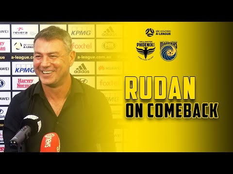POST MATCH | Mark Rudan On Comeback Against Mariners