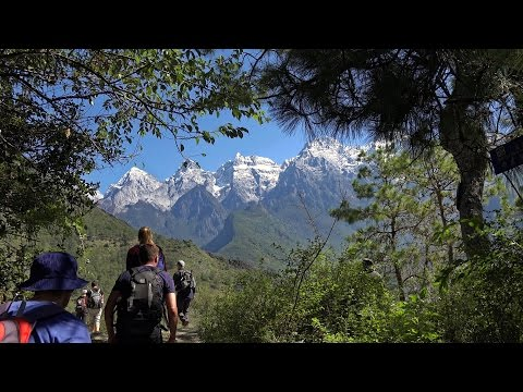 Tiger Leaping Gorge, Yunnan, China in 4K (Ultra HD)