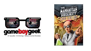 Manhattan Project Chain Reaction Review with the Game Boy Geek
