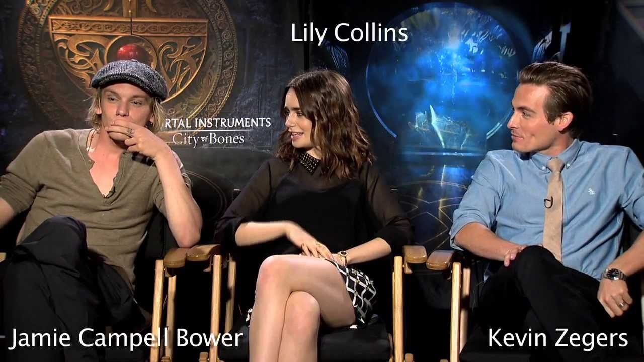 the mortal instruments interview lily collins jamie