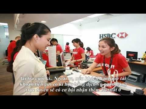 Lãi Suất Ngân Hàng HSBC Việt Nam Mới Nhất Tháng 11/2019