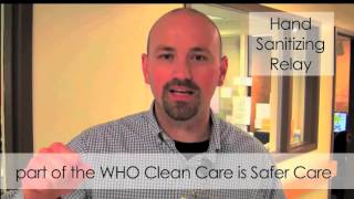 Global Hand Sanitizing Relay 2015 supported by WHO thumbnail