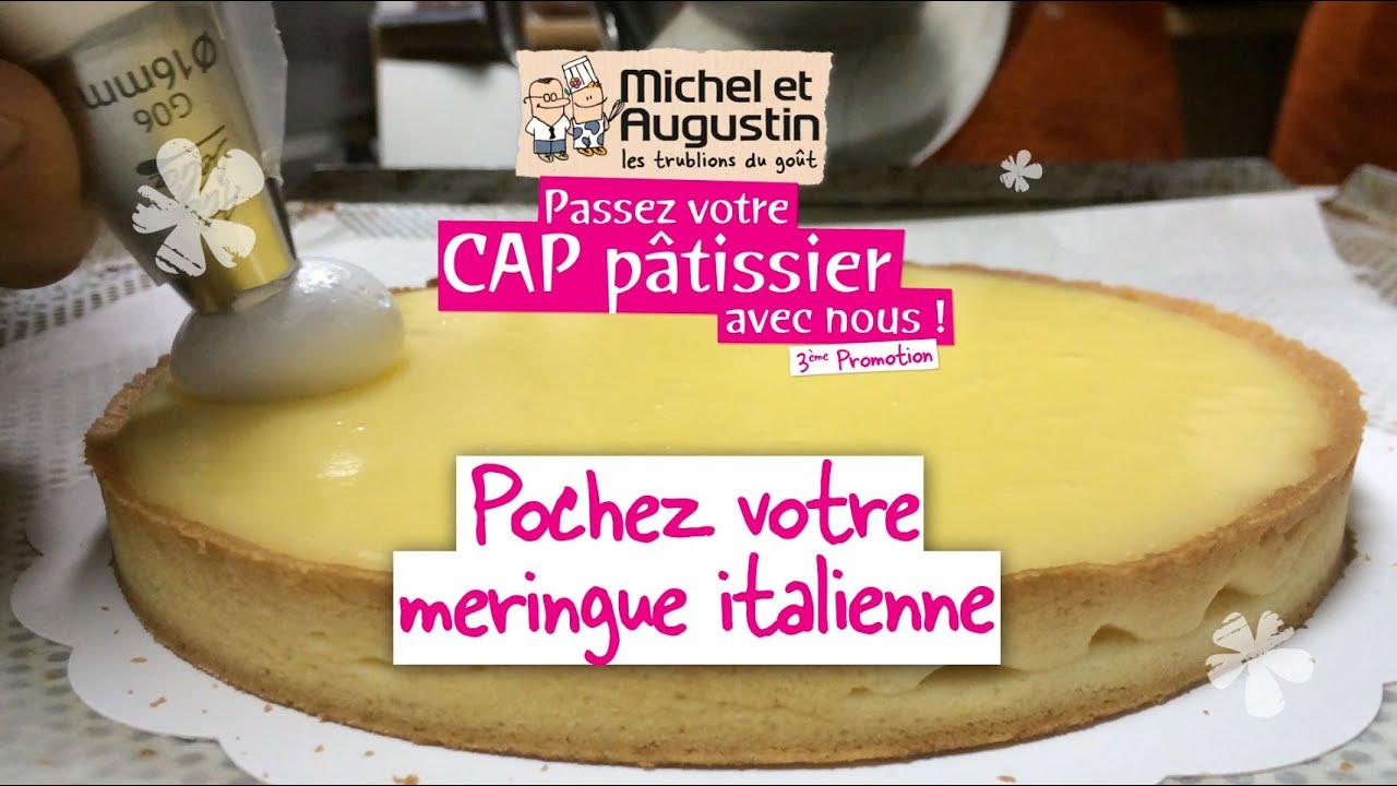 Cap p tisserie comment pocher votre meringue italienne - Youtube cuisine italienne ...