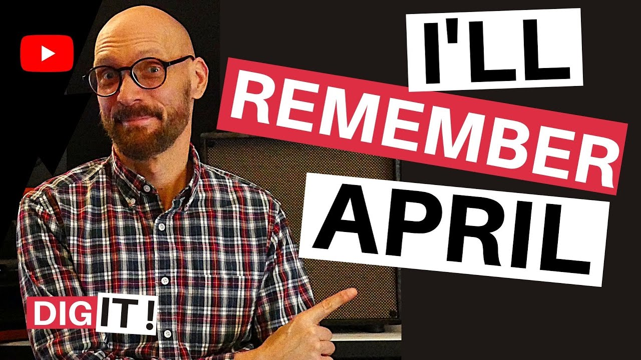 Jazz -Guitar Lesson -I'll Remember April