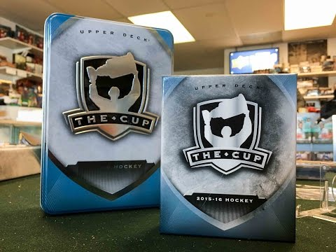 15/16 Upper Deck The Cup Box Break + REVIEW