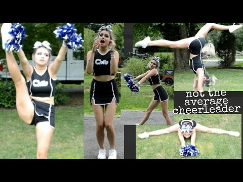 DOING MY OLD HIGH SCHOOL CHEERS IN AN OLD UNIFORM | Kylie Th