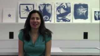 Christine Caldwell on Cyanotype Process