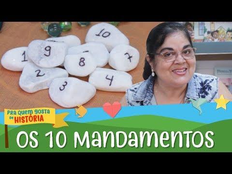 Os 10 mandamentos | Pra quem gosta de História