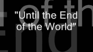 U2-Until the End of the World lyrics