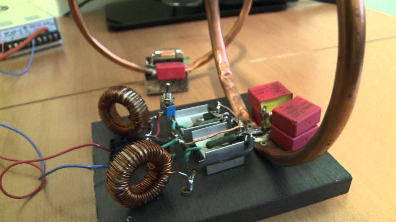 Wireless Power Transmission Project Circuit